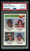 1977 Topps Rookie Catchers Dale Murphy PSA 8 NM-MT RC #476 Rick Cerone