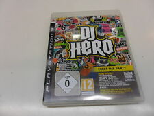 PLAYSTATION 3 PS 3 DJ Hero