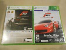 Microsoft Xbox 360 Game LOT (2) Forza Motorsport 3 & Halo 3 ODST/Forza 4