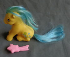 MY LITTLE PONY MLP G1 Bubbles complete HASBRO 1983 ITALY NIRVANA white freckles