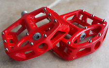 WELLGO MG1 MG-1 MAGNESIUM PEDALS 378g MTB BMX DH NEW IN RETAIL BOX RED