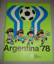 FIFA WORLD CUP ARGENTINA 1978 vintage GAUCHITO school Notebook RARE