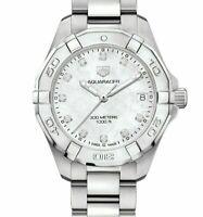 Tag Heuer Ladies Aquaracer Diamond Dot Mother Of Pearl Face UNWORN - RRP £1,850