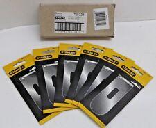 "BOX OF 6 Stanley 12-331 1-5/8"" Block Plane Iron Cutter Blade 12-506 9-1/2 9-1/4"