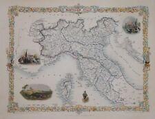 NORTHERN ITALY BY JOHN TALLIS 1850