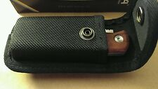 EKA LOCKBACK KNIFE BUBINGA WOOD AFRICAN ROSEWOOD 605608 SWEDEN WITH BOX & SHEATH