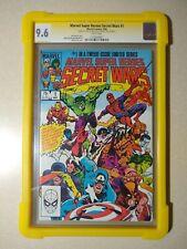 Marvel Super Heroes Secret Wars #1 CGC 9.6 SS X2 Signed STAN LEE & Mike Zeck