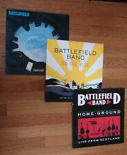 3 BATTLEFIELD BAND Scottish Folk Celtic Rock Reel Traditional Music LP Records a