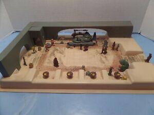 STAR WARS BUILT JABBA THE HUT  MODEL DIORAMA - 12 X 18 IN SIZE