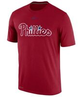NIKE MLB PHILADELPHIA PHILLIES LEGEND PRACTICE  DRI FIT SHIRT NWT SIZE L NEW