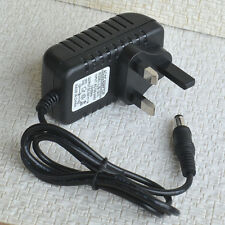 1 x UK standard Transformer 12V DC Adaptor Power Supply for OO N gauge Lights