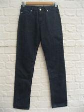 APC   Women's Deep Blue Denim Straight Slight Slim Leg Jeans   Size 27