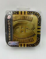 Montreal Canadiens Drink Table Coasters (4) NEW