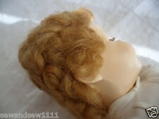 ANTIQUE OLD VINTAGE DOLL WITH WHITE DRESS
