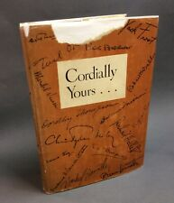 Zora Neale HURSTON / CORDIALLY YOURS Collection of Original Short Stories 1st ed