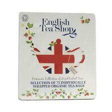 English Tea Shop Diamond Jubilee Assorted Organic Tea Bags Gift Tin (72 Sachets)