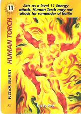 Marvel Overpower Original Human Nova Burst  - NrMint-Mint Condition