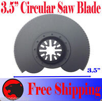 "3.5"" Circular Cut Oscillating Multi Tool Saw Blade For Ridgid Ryobi Makita Bosch"