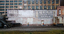 #147 HO scale background building flat   SELZ  * FREE SHIPPING*