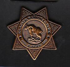 GLACIER NATIONAL PARK 1910-2010 RANGER BADGE LAPEL PIN