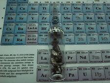 Pr 59 Praseodym Element TREM REE Metall Probe metal sample unter Argon Ampulle