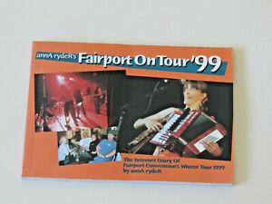 annA ryderR's Fairport On Tour '99 diary Fairport Convention