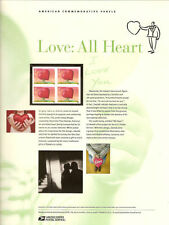 #815 42c Love: All Heart #4270 USPS Commemorative Stamp Panel