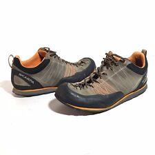 Scarpa Crux Men Size 11 Hiking Shoe Approach Orange Suede Climb Outdoor 72052