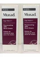2 x Murad Youth Builder Rejuvenating AHA Hand Cream 75ml 2.65oz NEW BOX!