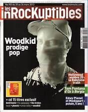 "LES INROCKUPTIBLES #903 ""Woodkid,T.Fontana,K.Anger,Timberlake,Zé Luis""(REVUE+CD)"