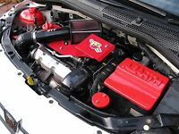 FIAT 500 ABARTH  RED PLASTIC BATTERY COVER