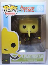 Funko Pop Lemongrab # 53 Adventure Time Vaulted Vinyl Figure