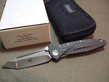 Microtech Marfione Custom Knives Socom Delta Hand Ground Dagger Carbon Fiber NIB