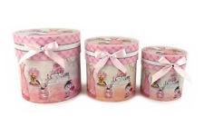 Contenitori e scatole rose in cartone con coperchio per la casa ...