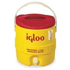 Igloo 431 3-Gallon Heavy-Duty Industrial Drinking Water Cooler, Hi-Vis Yellow