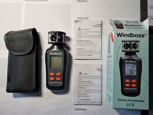 Windmesser Windboss 2 Temperaturmessung Thermo-Anemometer