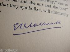 CRY OF THE LITTLE PEOPLE - Richard Le Gallienne London 1941 Rare EVA Signed Copy