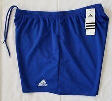 Womens XL Blue Adidas Climalite Parma Running/Fitness 16 Shorts AJ5900