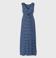 Isabel Maternity Dress Size Small Green Navy Blue New With Tags Ebay