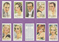 Loose Collectable Player's Cigarette Cards