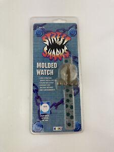 NEW Vintage Street Sharks Cartoon 1995 Jab Molded Flip Watch - VTG 90s