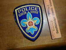BATON ROUGE LOUSIANA  POLICE DEPARTMENT  OBSOLETE   PATCH BX 11#34