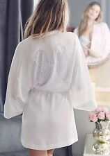 VICTORIA'S SECRET Fashion Show Bling Ice Angel Kimono Wrap Robe 2015 Wings
