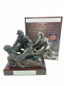 Tunison Gettysburg Civil War Masonic Memorial Sculpture Statue Friend to Friend