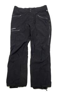 Patagonia Ski Snow Pants H2NO Mens Size XL Black