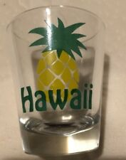 VINTAGE HAWAII PINAPPLE SHOT GLASS. 1970s