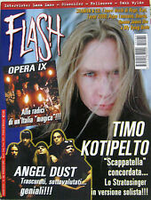 FLASH 160 2002 Timo Kotipelto Angel Dust Opera IX Lana Lane Helloween Gluecifer