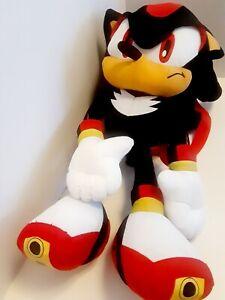 "Sega Sonic the Hedgehog Shadow Plush Backpack Stuffed Figure Doll Toy Kids 18"""
