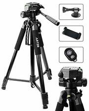 ARTZR Video Camera and Smartphone Tripod for Digital SLR Camera 3Way Head