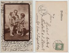 China evtl. aus Tientsin ?? Kinder, Chinese children from China  Foto 1905